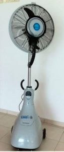 Portable Mobile Misting Fan